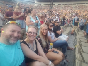 Heath attended Taylor Swift Reputation Stadium Tour on Aug 7th 2018 via VetTix