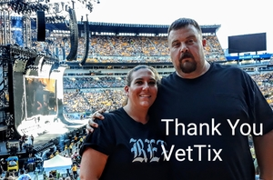 Andrew attended Taylor Swift Reputation Stadium Tour on Aug 7th 2018 via VetTix
