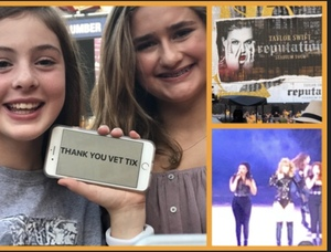 Sean attended Taylor Swift Reputation Stadium Tour on Aug 7th 2018 via VetTix
