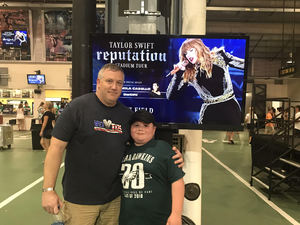 Jim Brown attended Taylor Swift Reputation Stadium Tour on Aug 7th 2018 via VetTix