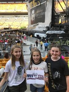 Robert attended Taylor Swift Reputation Stadium Tour on Aug 7th 2018 via VetTix