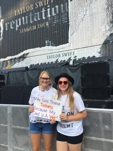 Thank You! attended Taylor Swift Reputation Stadium Tour on Aug 7th 2018 via VetTix