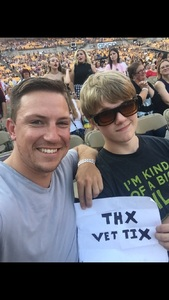 Kyle attended Taylor Swift Reputation Stadium Tour on Aug 7th 2018 via VetTix