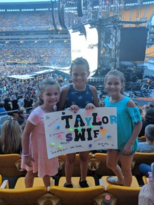 krysta attended Taylor Swift Reputation Stadium Tour on Aug 7th 2018 via VetTix