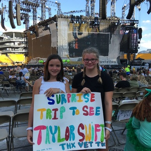 Patrick attended Taylor Swift Reputation Stadium Tour on Aug 7th 2018 via VetTix