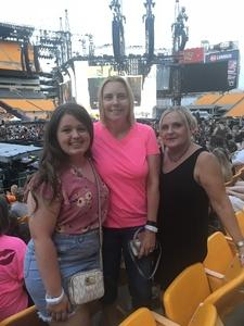 Michelle attended Taylor Swift Reputation Stadium Tour on Aug 7th 2018 via VetTix