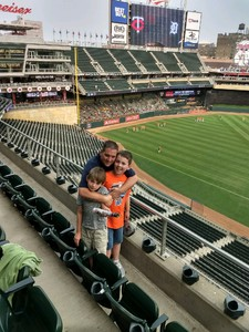 Anthony attended Minnesota Twins vs. Detroit Tigers - MLB on Aug 16th 2018 via VetTix