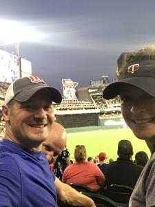 Cory attended Minnesota Twins vs. Detroit Tigers - MLB on Aug 16th 2018 via VetTix