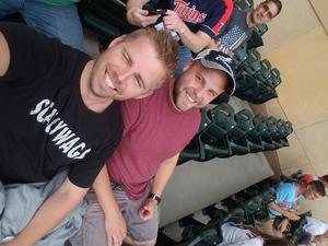 Aaron attended Minnesota Twins vs. Detroit Tigers - MLB on Aug 16th 2018 via VetTix