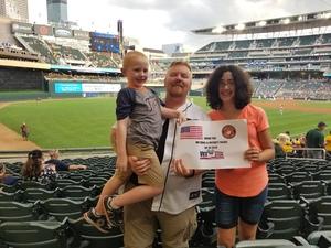 Josh attended Minnesota Twins vs. Detroit Tigers - MLB on Aug 16th 2018 via VetTix