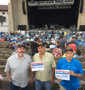 Randy attended Roger Daltrey of the Who on Aug 12th 2018 via VetTix
