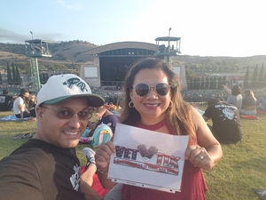Roberto attended 311 and the Offspring: Never-ending Summer Tour on Jul 29th 2018 via VetTix