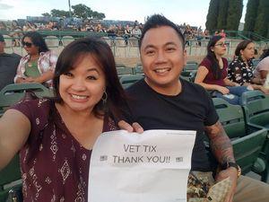 Ramon attended 311 and the Offspring: Never-ending Summer Tour on Jul 29th 2018 via VetTix