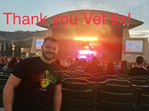 Jared attended 311 and the Offspring: Never-ending Summer Tour on Jul 29th 2018 via VetTix