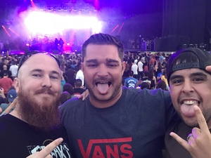 Jonathan attended 311 and the Offspring: Never-ending Summer Tour on Jul 29th 2018 via VetTix