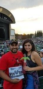 Edward attended 311 and the Offspring: Never-ending Summer Tour on Jul 29th 2018 via VetTix