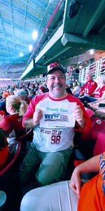Anthony attended Arizona Cardinals vs. Denver Broncos - NFL Preseason on Aug 30th 2018 via VetTix