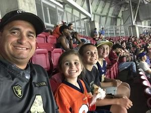 Curtis attended Arizona Cardinals vs. Denver Broncos - NFL Preseason on Aug 30th 2018 via VetTix