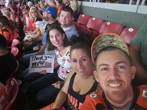 Richard attended Arizona Cardinals vs. Denver Broncos - NFL Preseason on Aug 30th 2018 via VetTix