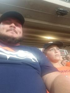 Aaron attended Arizona Cardinals vs. Denver Broncos - NFL Preseason on Aug 30th 2018 via VetTix