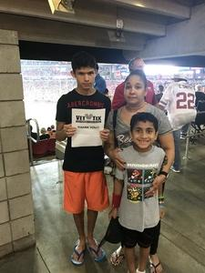 Eric attended Arizona Cardinals vs. Denver Broncos - NFL Preseason on Aug 30th 2018 via VetTix