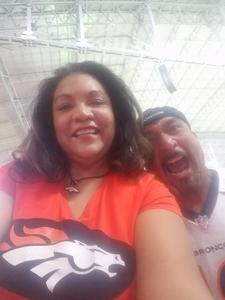 Linda attended Arizona Cardinals vs. Denver Broncos - NFL Preseason on Aug 30th 2018 via VetTix