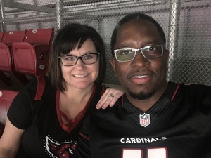 Darius attended Arizona Cardinals vs. Denver Broncos - NFL Preseason on Aug 30th 2018 via VetTix