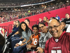 Michael attended Arizona Cardinals vs. Denver Broncos - NFL Preseason on Aug 30th 2018 via VetTix