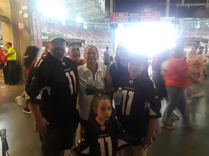 Sergio attended Arizona Cardinals vs. Denver Broncos - NFL Preseason on Aug 30th 2018 via VetTix