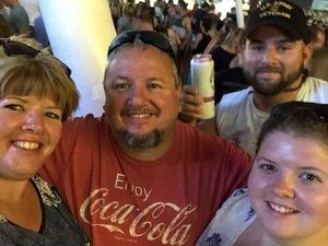 Matt VanDoorn attended Dierks Bentley Mountain High Tour 2018 on Aug 4th 2018 via VetTix