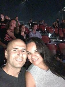 Frank attended Jukebox Heroes Foreigner with Whitesnake, Jason Bonham's Led Zeppelin - Reserved Seats on Aug 1st 2018 via VetTix