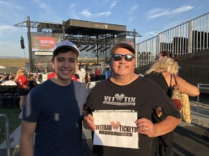 David attended Jukebox Heroes Foreigner with Whitesnake, Jason Bonham's Led Zeppelin - Reserved Seats on Aug 1st 2018 via VetTix