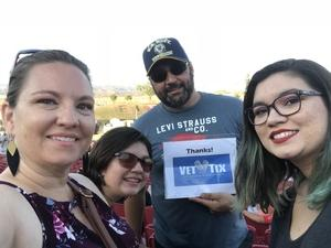 Eric attended Jukebox Heroes Foreigner with Whitesnake, Jason Bonham's Led Zeppelin - Reserved Seats on Aug 1st 2018 via VetTix