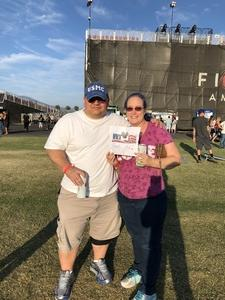 Martin attended Jukebox Heroes Foreigner with Whitesnake, Jason Bonham's Led Zeppelin - Reserved Seats on Aug 1st 2018 via VetTix