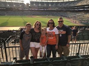 Jeff attended Detroit Tigers vs. Chicago White Sox - MLB on Aug 14th 2018 via VetTix