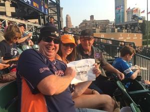 Daniel attended Detroit Tigers vs. Chicago White Sox - MLB on Aug 14th 2018 via VetTix