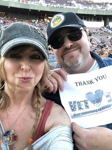 Scott attended Laid Back Festival a Celebration of Music & Food Chicago & Reo Speedwagon - Reserved Seats on Aug 3rd 2018 via VetTix