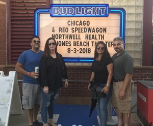 Jonathan attended Laid Back Festival a Celebration of Music & Food Chicago & Reo Speedwagon - Reserved Seats on Aug 3rd 2018 via VetTix