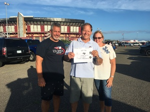 Eugene attended Laid Back Festival a Celebration of Music & Food Chicago & Reo Speedwagon - Reserved Seats on Aug 3rd 2018 via VetTix