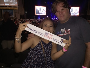 ken F attended Laid Back Festival a Celebration of Music & Food Chicago & Reo Speedwagon - Reserved Seats on Aug 3rd 2018 via VetTix