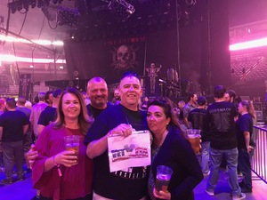 alan attended Godsmack / Shinedown with special guests Like A Storm on Jul 31st 2018 via VetTix