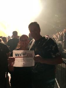 Leona attended Godsmack / Shinedown with special guests Like A Storm on Jul 31st 2018 via VetTix