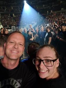 Darcy attended Godsmack / Shinedown with special guests Like A Storm on Jul 31st 2018 via VetTix