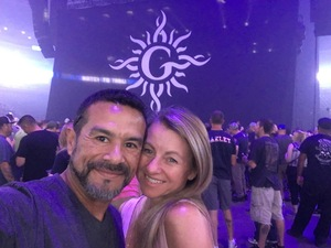Rodney attended Godsmack / Shinedown with special guests Like A Storm on Jul 31st 2018 via VetTix