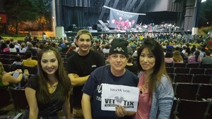 USMC (ret) attended Pentatonix With Special Guests Echosmith and Calum Scott - Pop on Aug 12th 2018 via VetTix