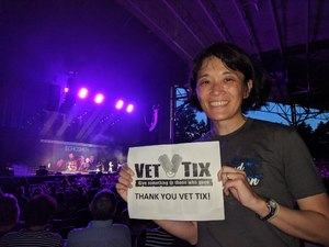 Agatha attended Pentatonix With Special Guests Echosmith and Calum Scott - Pop on Aug 12th 2018 via VetTix