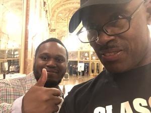 Erwin attended The Taj Mahal and Keb' Mo' Band on Aug 10th 2018 via VetTix