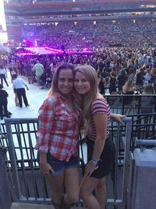 Larry attended Taylor Swift Reputation Stadium Tour on Aug 14th 2018 via VetTix