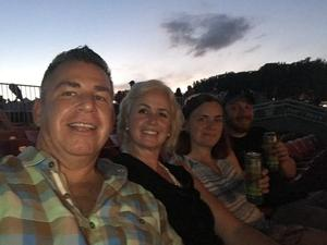 Victor attended Brad Paisley Tour 2018 - Country on Aug 30th 2018 via VetTix