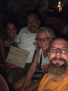 alfred attended Brad Paisley Tour 2018 - Country on Aug 30th 2018 via VetTix